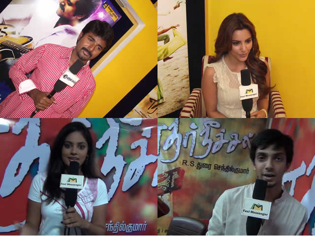 Ethirneechal Team Interview