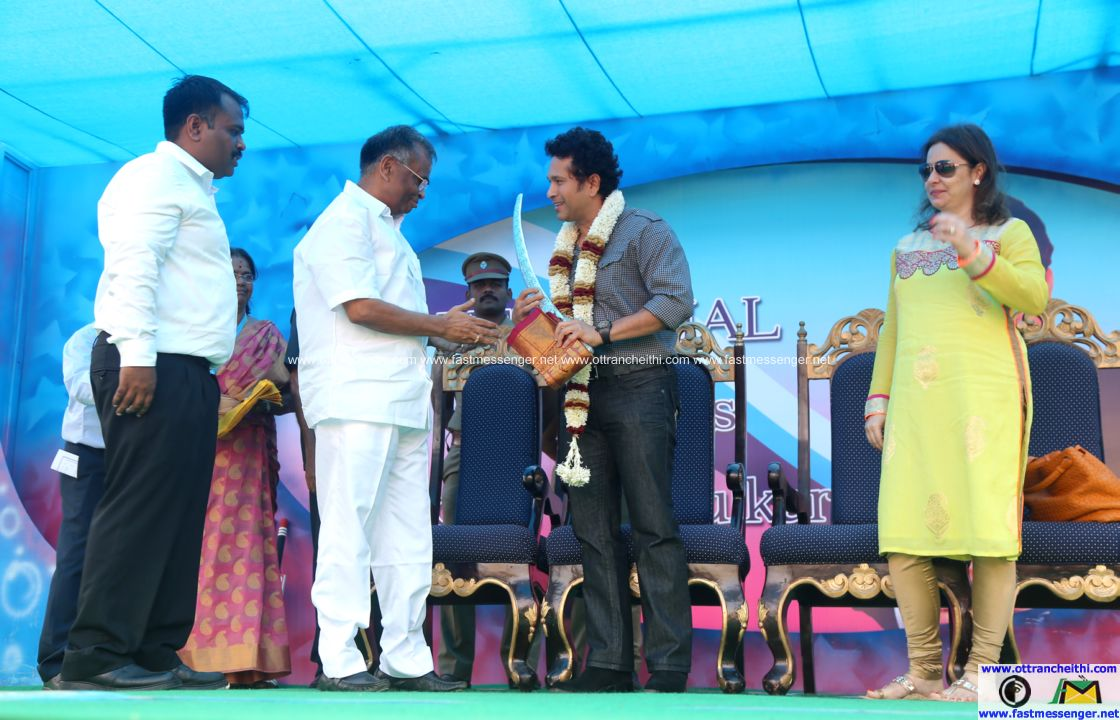 Sachin at Velammal  (10)