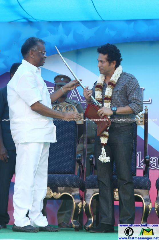 Sachin at Velammal  (3)