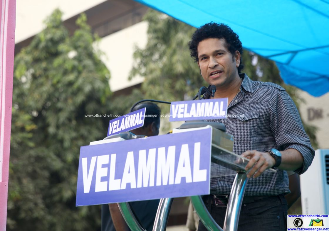 Sachin at Velammal  (5)