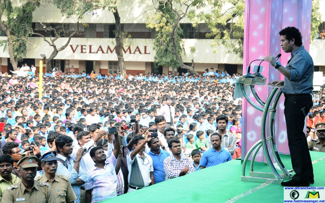 Sachin at Velammal  (6)