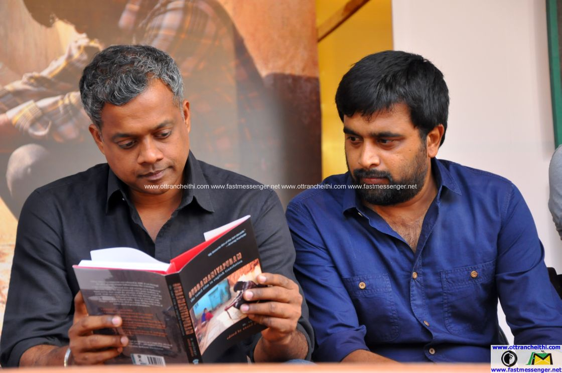 Subramaniapuram English Script Book Release (10)