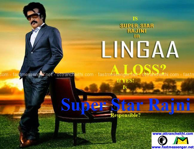 Lingaa - Rajni not responsbile for loss