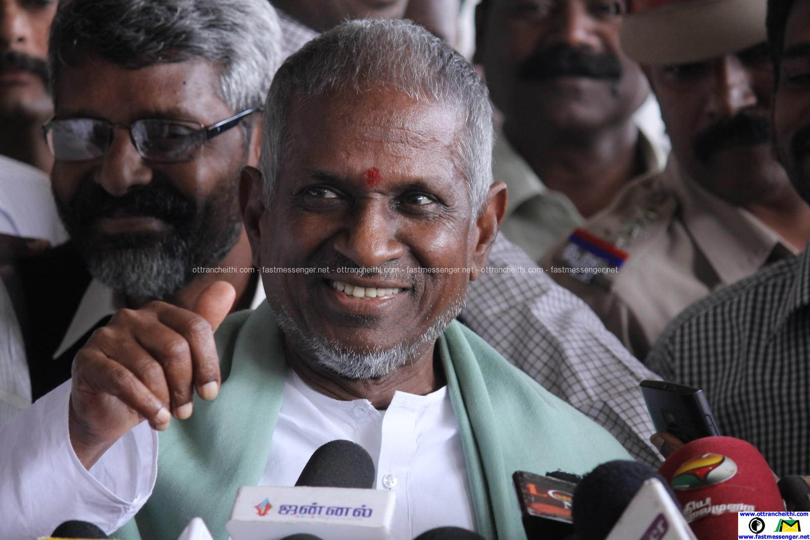 Maestro Illayaraja Arriving to chennai from mumbai Photos (23)