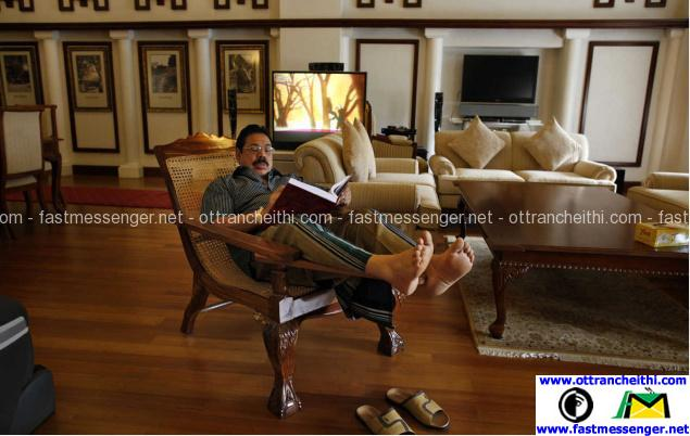 Rajapaksa at Country Home