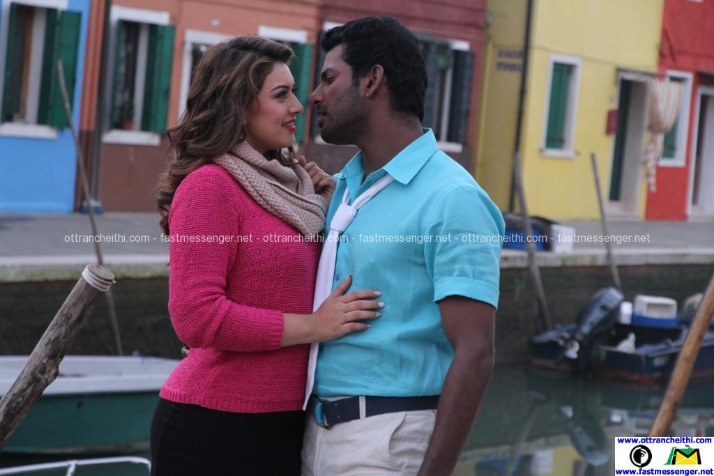 Vishal & Hansika in Aambala