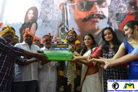 Vaigai Express Movie Launch Poojai