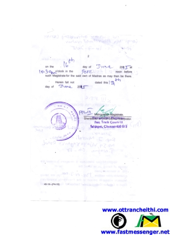 1) Summons to Mediaone Global Entertainment Ltd-2