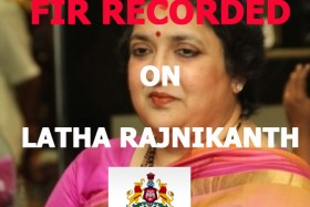 FIR on Latha Rajnikanth