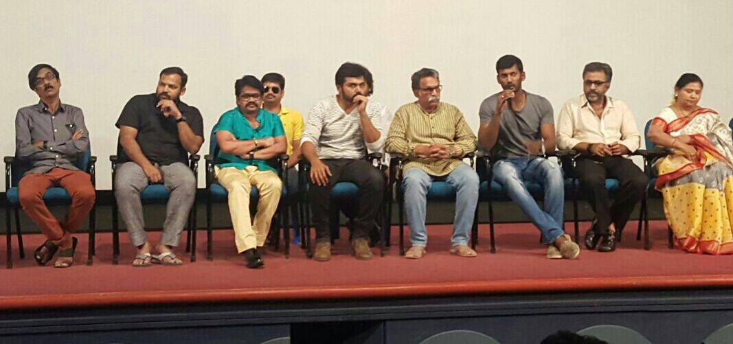 Nadigar Sangam Pandavar Press Meet