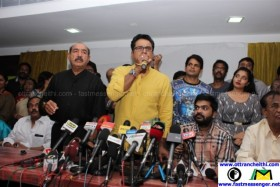 Nadigar Sangam Sarathkumar Team Press Meet